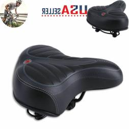 Wide Big Bum Saddle Seat Bike Bicycle Gel Cruiser Ultra Comf