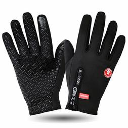 Winter Cycling Full Finger Gloves Road Mountain Bike Touch S