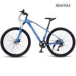 wolf's fang bicycle Mountain Bike 27speed 29Inch road bikes