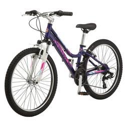 """Women's Schwinn Ranger 24"""" Purple Mountain Bike, 21 Speed {B"""