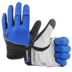 Zookki Work Gloves,Full finger-Blue,L