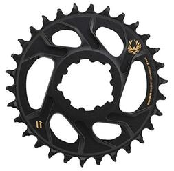 SRAM X-Sync 2 Eagle Chainring 38T Direct Mount 6mm Offset Bl