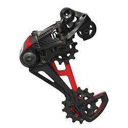 SRAM X01 Eagle 12 Speed MTB Carbon Rear Derailleur Black/Red