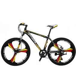 VTSP X3 MTB Mountain Bike Aluminum Frame 21-Speed 26-inch Bi