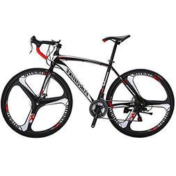 Bikes EURXC550 21 Speed Road Bike 49 cm Frame 700C K Wheels