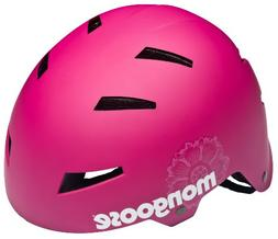 Mongoose Youth Street Hardshell Helmet, Pink