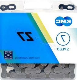 """KMC Z7 Z50 5 6 7 s Speed Bicycle Chain 116L 1//2/"""" x 3//32/"""" Road cycling"""