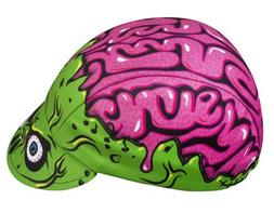 Zombie Brains Cycling Cap - Made in The USA